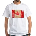 Canada Flag White T-Shirt