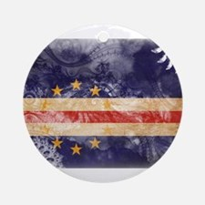 Cape Verde Flag Ornament (Round)