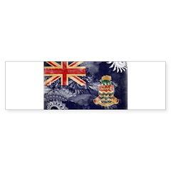 Cayman Islands Flag Sticker (Bumper 10 pk)