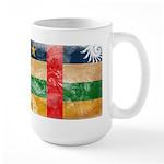 Central African Republic Flag Large Mug