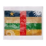Central African Republic Flag Throw Blanket