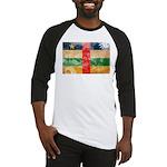 Central African Republic Flag Baseball Jersey