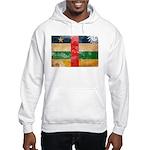 Central African Republic Flag Hooded Sweatshirt