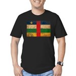 Central African Republic Flag Men's Fitted T-Shirt