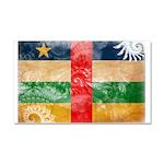 Central African Republic Flag Car Magnet 20 x 12