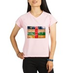 Central African Republic Flag Performance Dry T-Sh