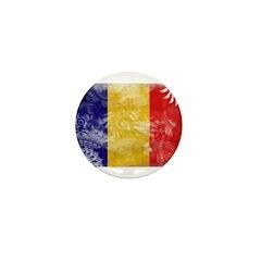 Chad Flag Mini Button (10 pack)