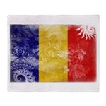 Chad Flag Throw Blanket