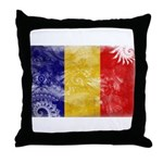 Chad Flag Throw Pillow