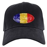 Chad Flag Black Cap