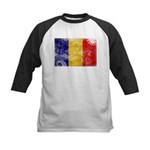 Chad Flag Kids Baseball Jersey