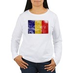 Chad Flag Women's Long Sleeve T-Shirt