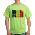 Chad Flag Green T-Shirt