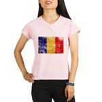 Chad Flag Performance Dry T-Shirt