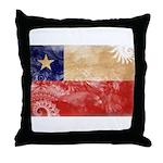 Chile Flag Throw Pillow