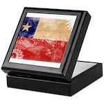 Chile Flag Keepsake Box