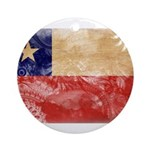 Chile Flag Ornament (Round)