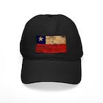 Chile Flag Black Cap