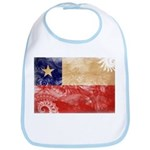 Chile Flag Bib
