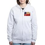 Chile Flag Women's Zip Hoodie