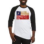 Chile Flag Baseball Jersey