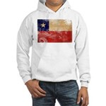 Chile Flag Hooded Sweatshirt