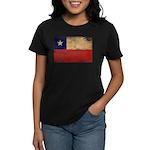 Chile Flag Women's Dark T-Shirt