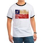 Chile Flag Ringer T
