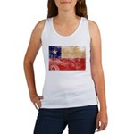 Chile Flag Women's Tank Top