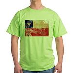 Chile Flag Green T-Shirt
