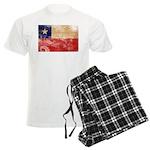 Chile Flag Men's Light Pajamas