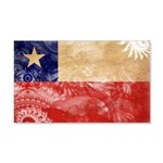 Chile Flag 22x14 Wall Peel
