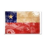 Chile Flag Car Magnet 20 x 12