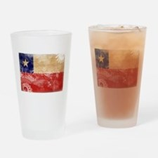 Chile Flag Drinking Glass