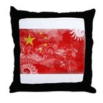 China Flag Throw Pillow