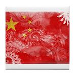 China Flag Tile Coaster
