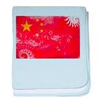 China Flag baby blanket