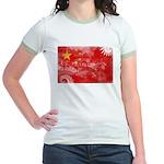 China Flag Jr. Ringer T-Shirt
