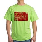 China Flag Green T-Shirt