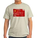 China Flag Light T-Shirt
