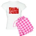 China Flag Women's Light Pajamas
