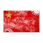 China Flag 22x14 Wall Peel