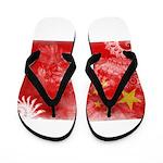 China Flag Flip Flops