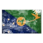 Christmas Island Flag Sticker (Rectangle 50 pk)