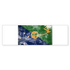 Christmas Island Flag Bumper Sticker