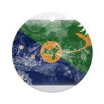 Christmas Island Flag Ornament (Round)