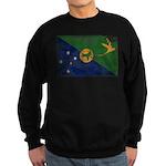 Christmas Island Flag Sweatshirt (dark)