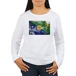Christmas Island Flag Women's Long Sleeve T-Shirt