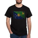 Christmas Island Flag Dark T-Shirt