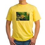Christmas Island Flag Yellow T-Shirt